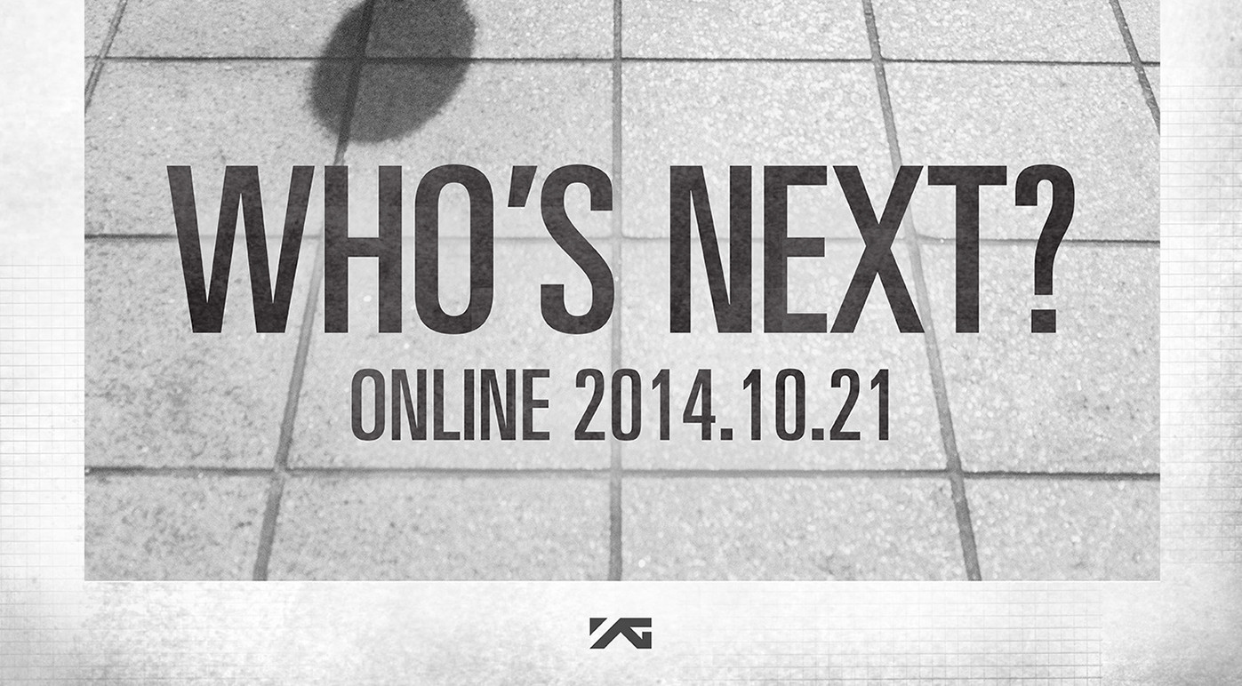 WHO'S NEXT poster