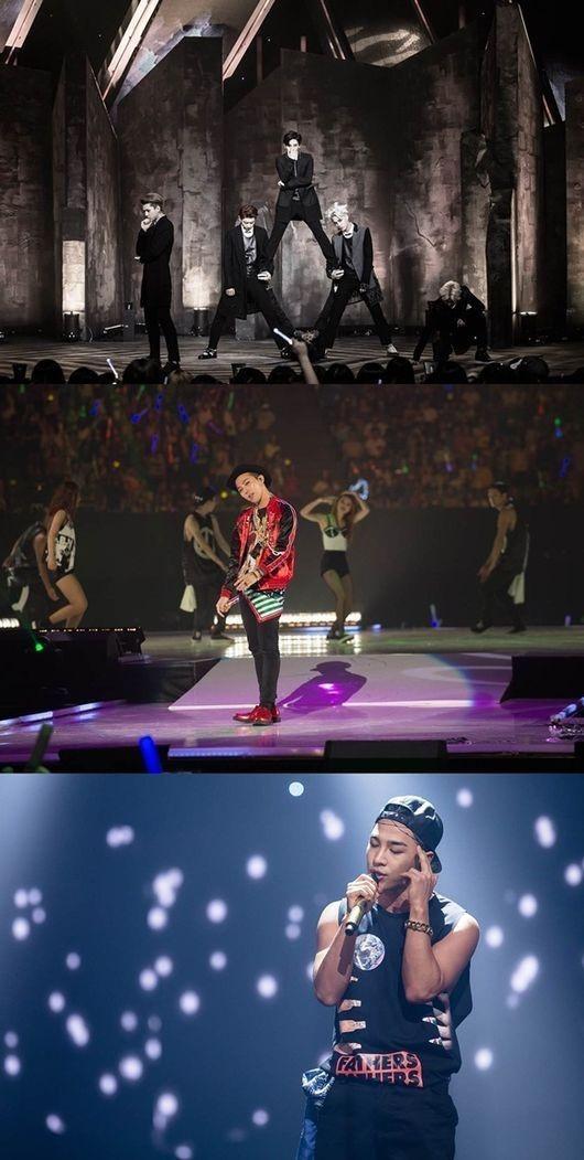 IFE GD TAEYANG EXO确定出席 2014 MAMA ..公开首批Line up