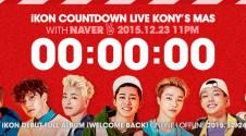 iKON - COUNTDOWN LIVE 'KONY'S MAS' COUNTER