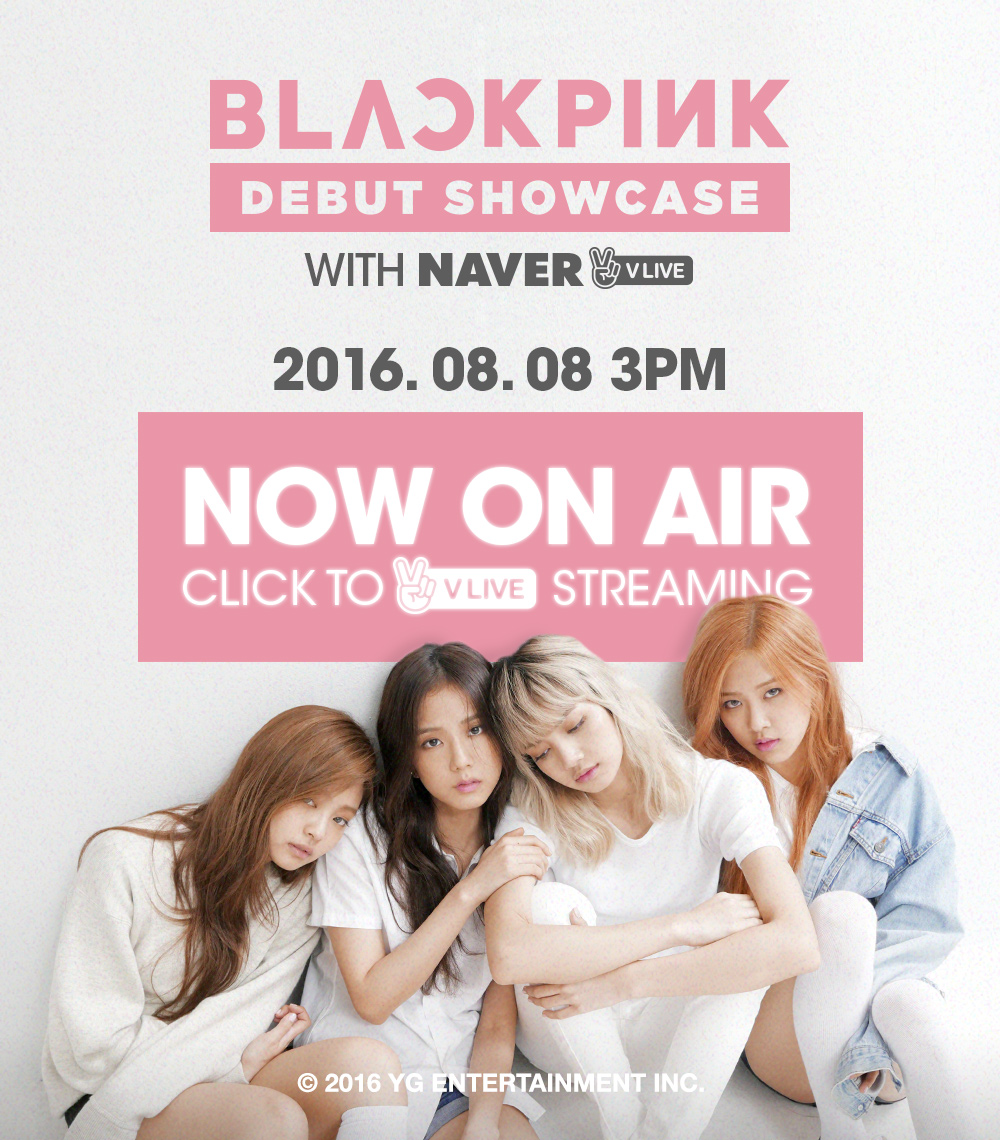 Yg life blackpink debut showcase v live now on airfinal stopboris Images