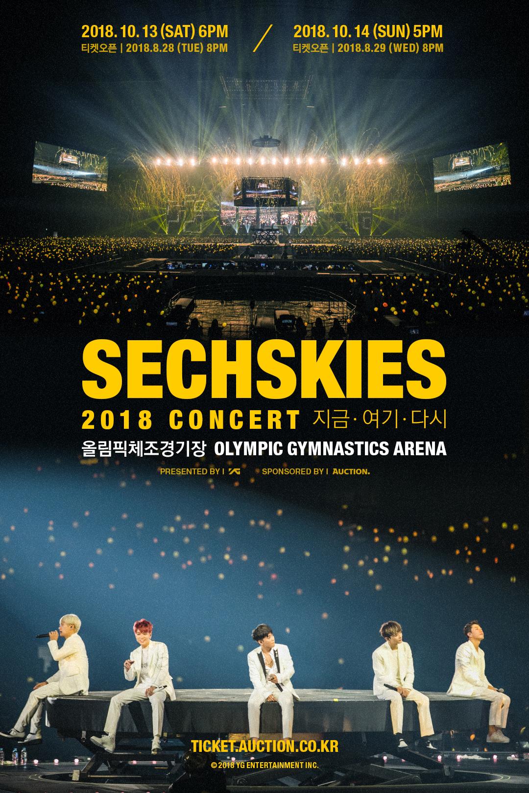 젝스키스 콘서트 포스터 (웹)
