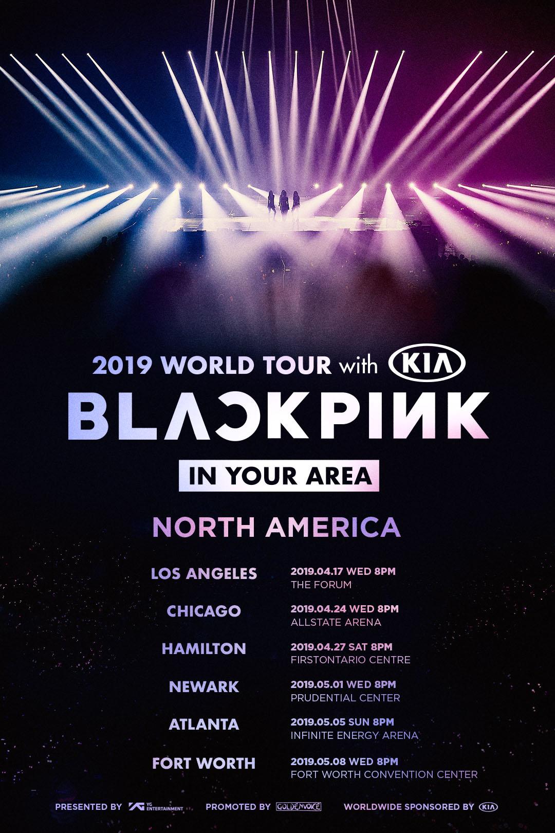 BLACKPINK_2019worldtour_POSTER_N.AMERICA_ALL_poster