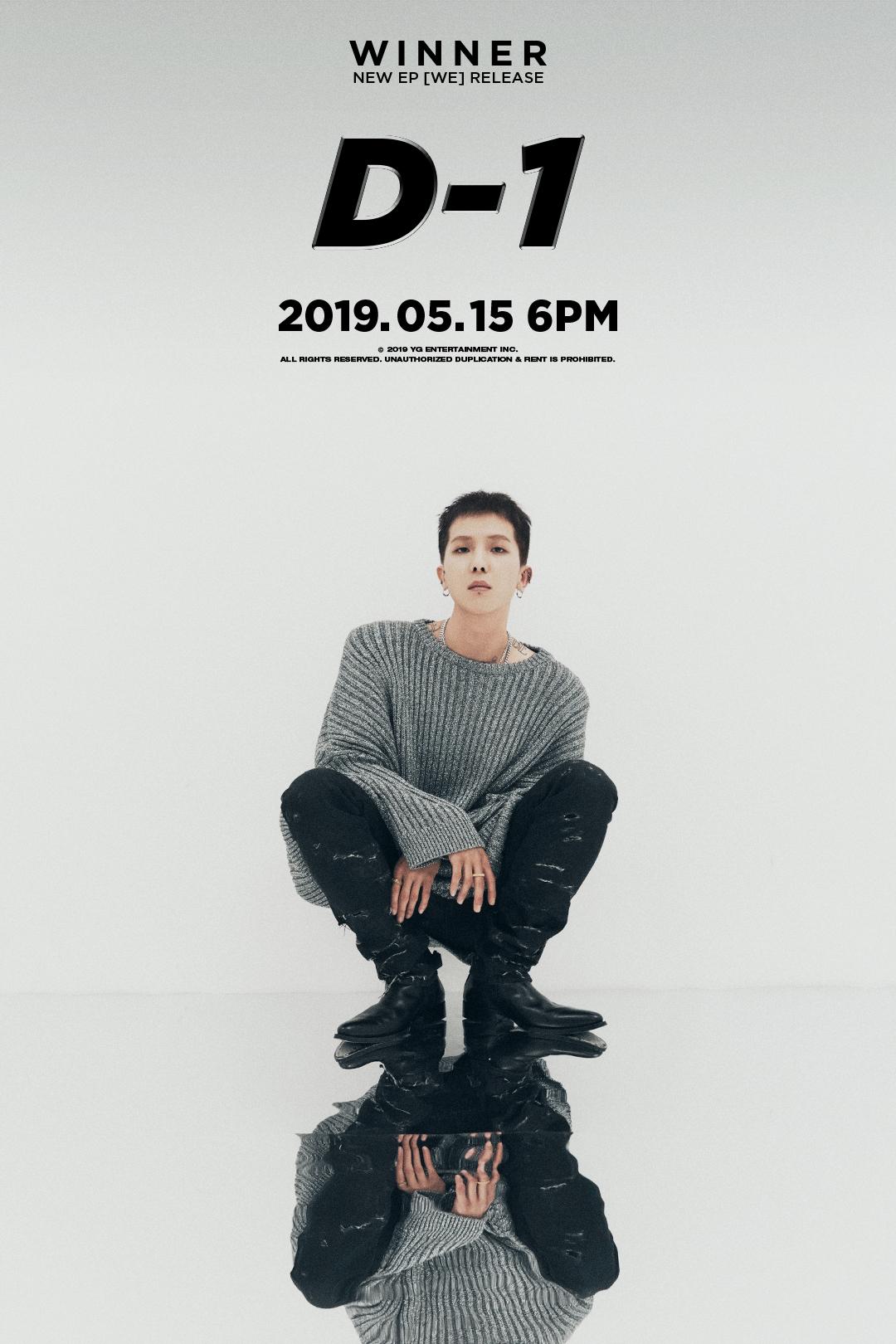 WINNER_D-1민호 poster